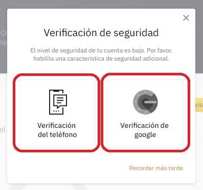 verificación de seguridad