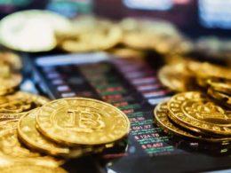 La caída de las principales criptomonedas del mercado Bitcoin, Ethereum y Dogecoin