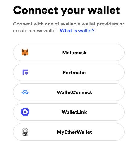 Conectar tu billetera.